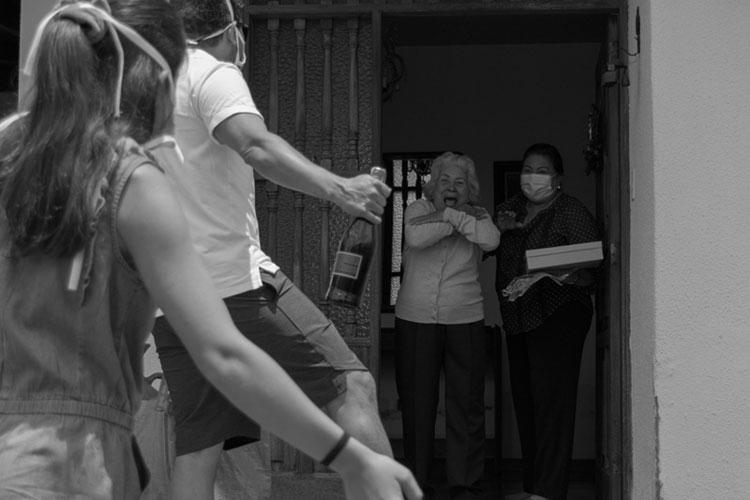 """Segundo lugar: Miren Jone Leizaola """"Día de la Madre en cuarentena"""""""
